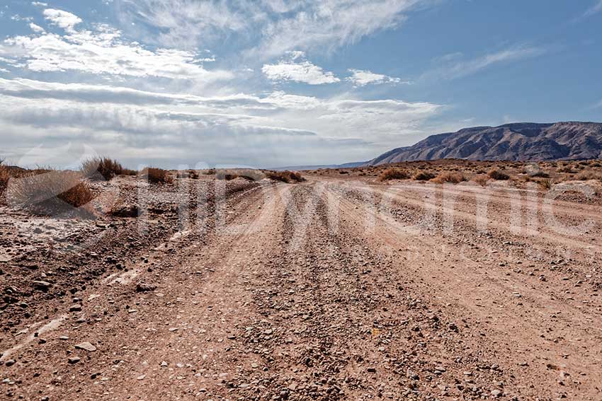 red desert dirt road