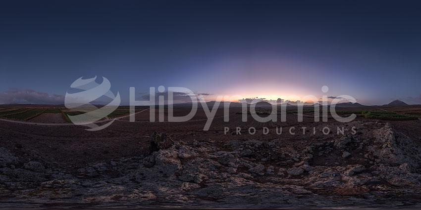 lanzarote scenic sunrise
